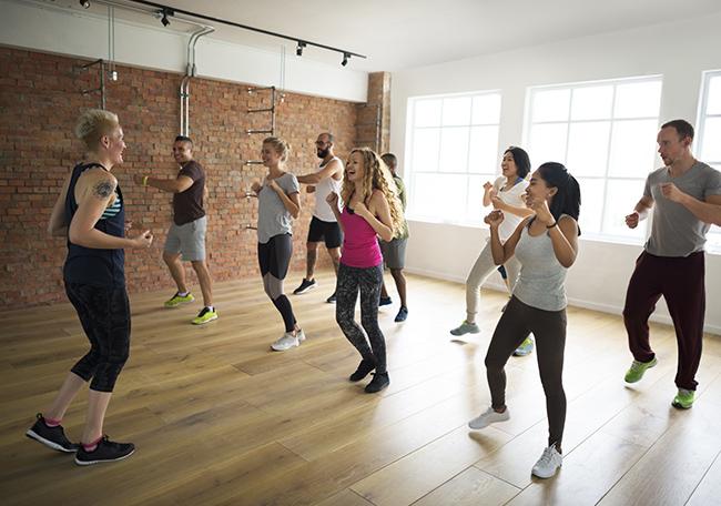 dance class in action - poole design agency branding