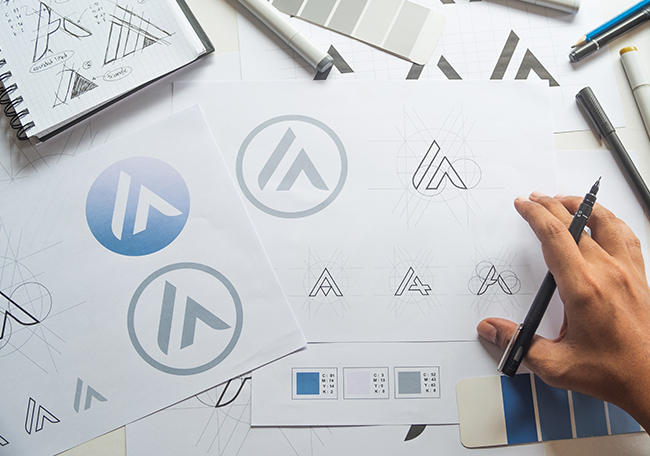 logo design ideas from graphic design agency - poole